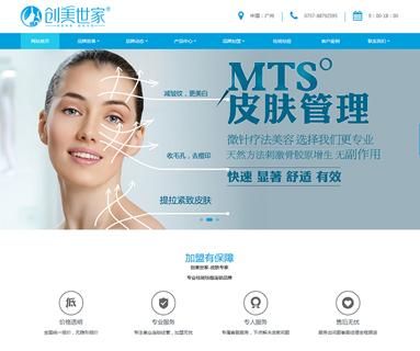 医疗美容机构网站模板